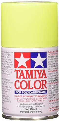 Tamiya 86027 Paint Spray, Fluorescent Yellow