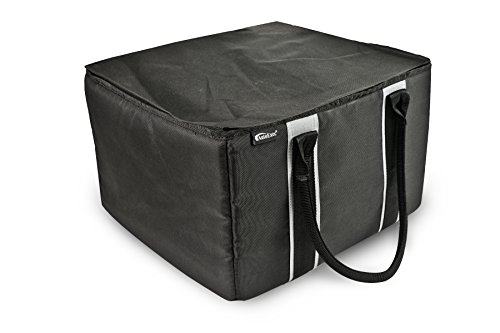 Portable Office - AutoExec AE-TOTE01B Black File Tote