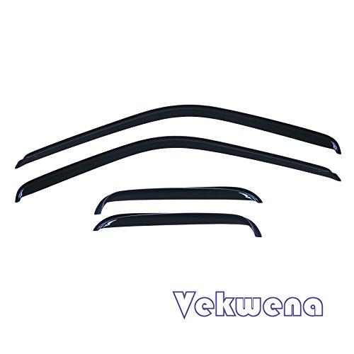 C/k Vent Window (Vekwena 4pcs Fit 88-00 C10 C/K Pickup Extended Cab Sun/Rain Guard Vent Window Visors)