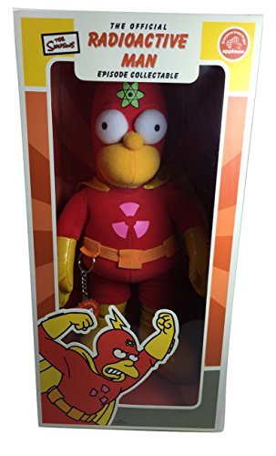 The Simpson's RadioActive Man Homer Plush by Applause