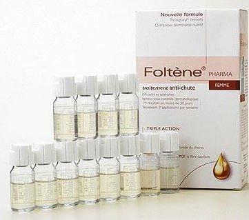 Treatment 1 Vial - Foltene Pharma European Revitlizing Treatment for Thinning Hair Woman's Formula 3.38oz (1/ea)