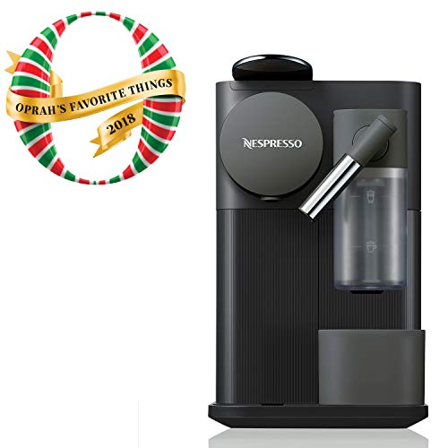 Nespresso EN500B Lattissima One Original Espresso Machine with Milk Frother by De'Longhi, Black (Best Affordable Home Espresso Machine)