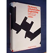 Technical Dictionary of Automotive Engineering
