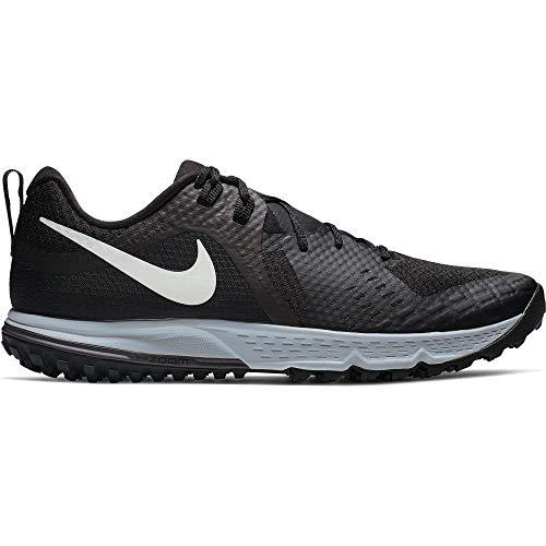 Nike Men's Air Zoom Wildhorse 5 Trail Running Shoes (13, Black/Grey) ()