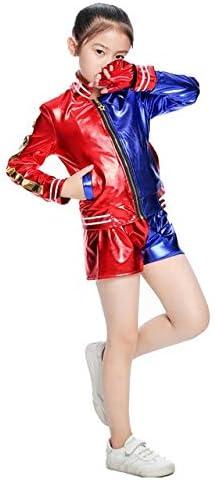 BCOGG Nuevo El bordado Niñas Niños Harley Quinn Disfraz Cosplay ...