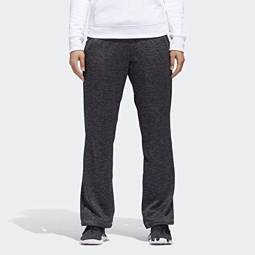 adidas Women's Team Issue Dorm Pants, Dark Grey Melange, Small by adidas