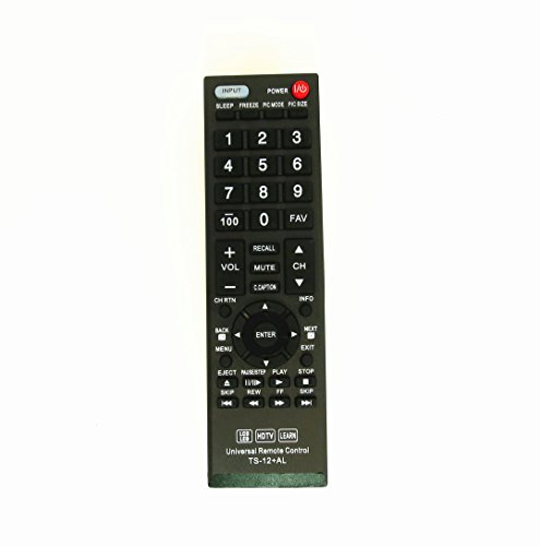 Gvirtue Universal Remote Control Compatible Replacement for Toshiba TV/ HDTV/ LCD/ LED, CT-90325 CT-90326 CT-90329 CT-8037 CT-90302 CT-90275 CT-90 CT-90366 (Tv Toshiba 32c120u)