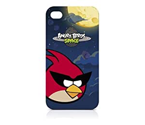 Gear4 ICAS401G Angry Birds Case for iPhone 4/4S - 1 Pack - Retail Packaging - Red