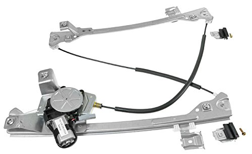 Power Window Regulator w/Motor Front Driver Side Left LH for 04-06 Pacifica