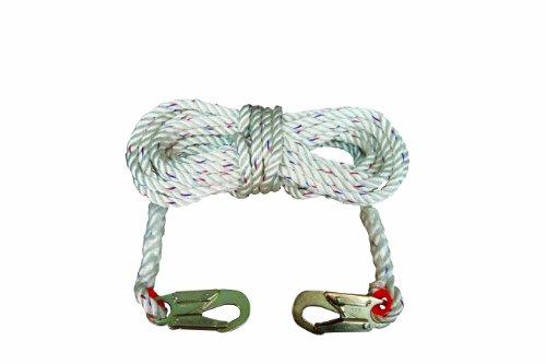 Elk River 49813 Polyester/Polypropylene Construction Plus Lifeline Rope with Snaphook, 5/8