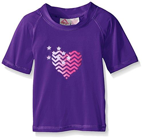 Kanu Surf Little Girls' Toddler Alexa UPF 50+ Sun Protective Rashguard, Purple, 2T