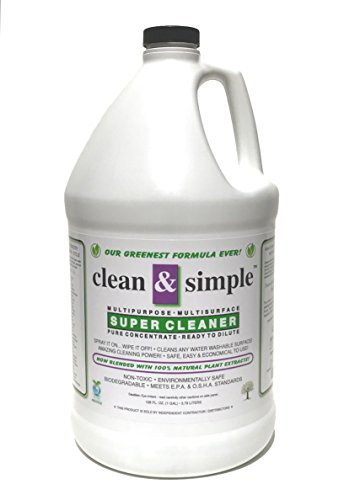 (Clean & SimpleTM Super Cleaner Concentrate)