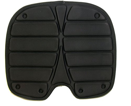AquRa Black Quality Foldable Folding Kayak Seat Pad Cushion