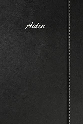- Aiden: Simulated Leather Notebook Journal Diary Sketchbook With Lined Pages