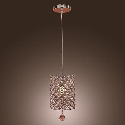 Lightinthebox Modern Crystal Light Drop Pendant Ceiling Lamp Fixture Lighting Chandelier USA Domestic Shipment,voltage=110-120v