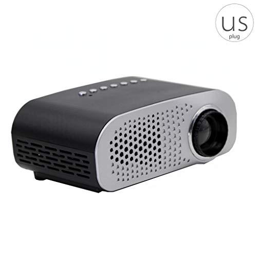 Riverlily GP802A Mini Portable LED Projector 1080P Multimedia Home Cinema Theater USB SD HD AV VGA LED Projector from Riverlily