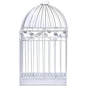 White Birdcage Wedding Gift Card Holder