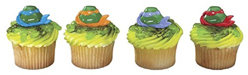 Teenage Mutant Ninja Turtle Cupcake Rings Pkg of 12