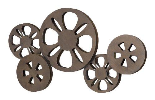 Deco 79 Metal Movie Reel Elegant Accessory for Studio ()