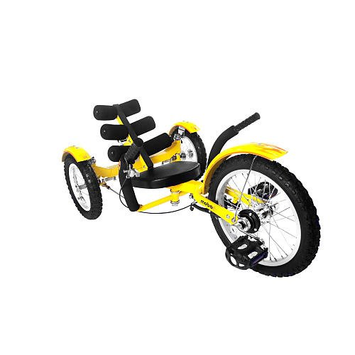 Mobo Mobito - The Ultimate Three Wheeled Cruiser ,youth - Yellow, 16 Inch