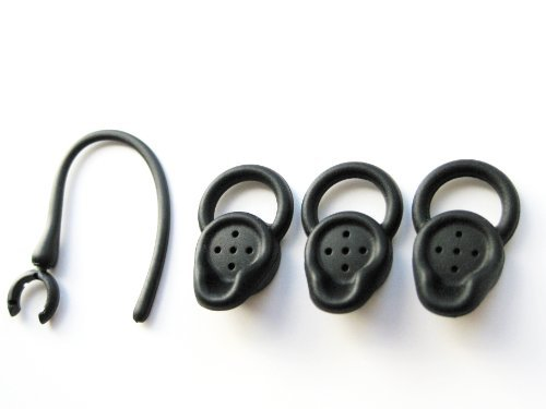 3 Small Black Stabilizer Earbuds for Jawbone - Earbuds Jawbone