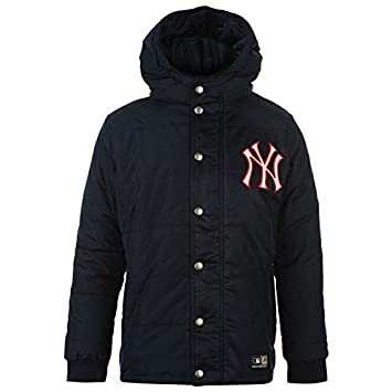 New York Yankees Parker chaqueta abrigo NY azul para niños ...