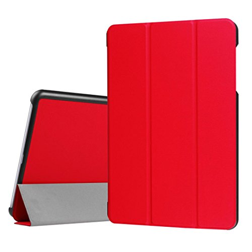 Price comparison product image For Asus ZenPad Z10 ZT500KL 4G LTE 9.7inch Tablet PC,GBSELL Magnetic Auto Sleep Leather Cover Case + Free Gift (Red)