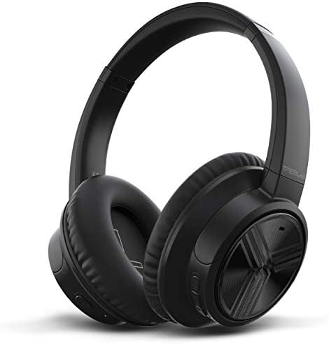 TREBLAB E3 – Ultra-HD Over-Ear Wireless Headphones, Active Noise Cancelling, Bluetooth 5.0 Premium Softest Materials, 50H Battery w Type-C, HD Microphone, Best for Sports Workout, Gym, Travel, Work