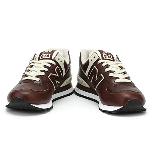 Homme 574v2 Marron New Balance Baskets qagwFxxX4S