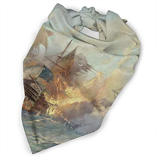 Pet Scarf Dog Bandana Bibs Triangle Head Scarfs Ship Steamship Accessories for Cats Baby Puppy
