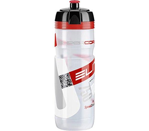 Elite 0091754 Super Corsa Water Bottle, Clear