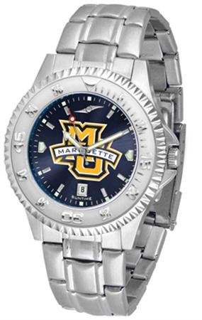 - Linkswalker Mens Marquette Golden Eagles Competitor Steel Anochrome Watch