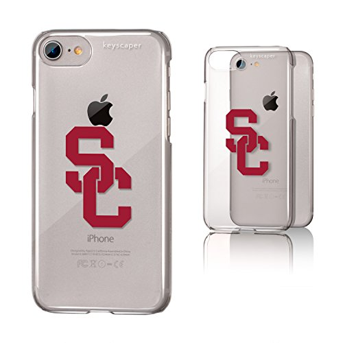 Keyscaper USC Trojans Clear Case for the iPhone 6/6S/7/8 NCAA