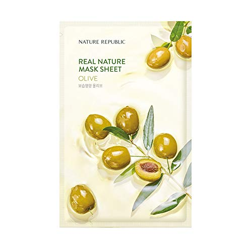 Nature Republic Real Nature Mask Sheet_10Sheet (#Olive)