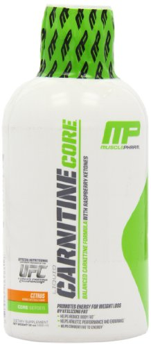 MusclePharm Carnitine Core Capsules, 30 Servings