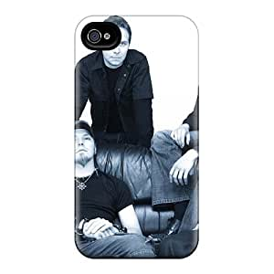 AlainTanielian Iphone 4/4s Comfortable Phone Hard Cover Unique Design Stylish Charon Band Series [YHM14661PTin]
