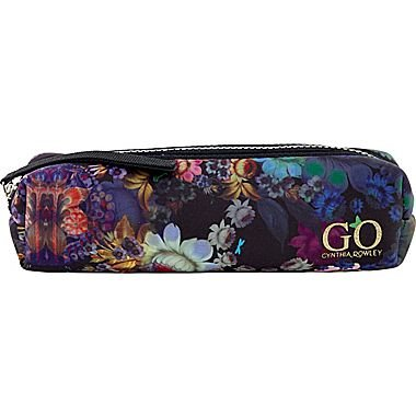 Cynthia Rowley GO Accessories Pouch, Cosmic Black Floral, Neoprene (28780)