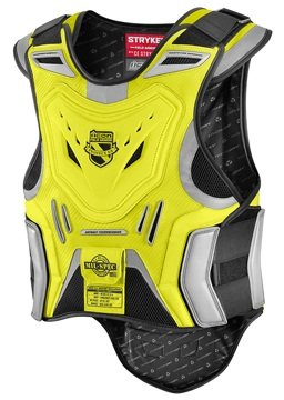 Icon Stryker Mil-Spec Vest Men's Field Armor On-Road Motorcycle Body Armor - Yellow / Large/X-Large (Field Of Armor)