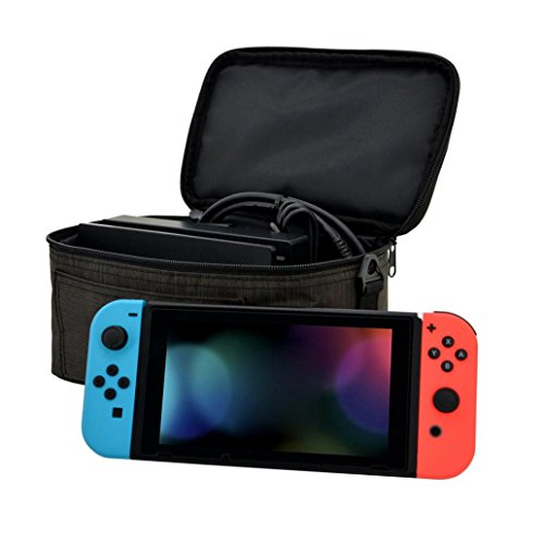 Portable Handbag Backpack Mokao Mini Waterproof Travel NYC Style Bag Carry Case For Nintendo Switch Or Dock With Accessory Storage Bag