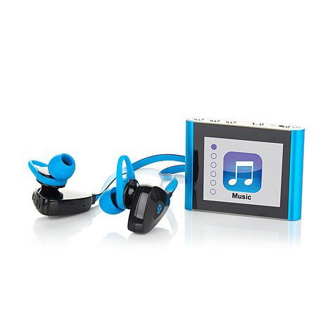 Eclipse Fit Clip Bluetooth Media Player with JLab Go Wireles