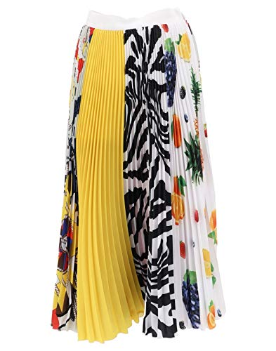 2641mdd38p19527402 Msgm Poliestere Gonna Donna Giallo fEE1O