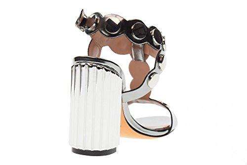 à Talons Gunmetal Rifle 2468 Femme ALBANO Sandales Cane Hauts Chaussures qwx1pyIt