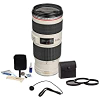 Canon EF 70-200mm f/4L IS USM Lens/Filter Bundle. USA. Value Kit w/Acc #1258B002