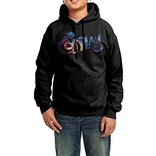 YHTY Youth Boys/Girls Hoodies Cold Band Play Black Size M