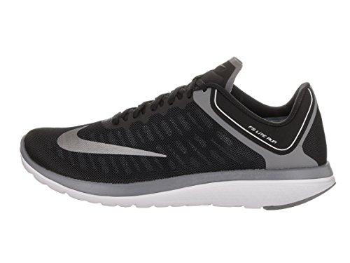 Zapatillas de running Nike FS Lite Run 4 Black / Mtlc Cool Gray / Cool Grey 10.5 Men US