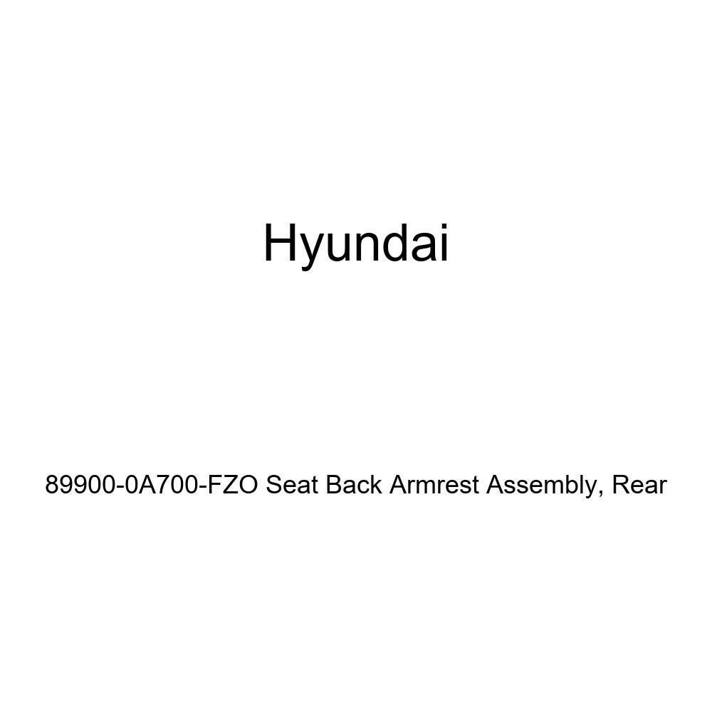 Genuine Hyundai 89900-0A700-FZO Seat Back Armrest Assembly Rear