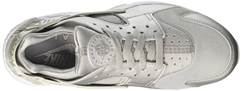 pure Silver Platinum Premium white Homme Air Run Silver Metallic Metallic Nike Huarache Basses Argent Sneakers O7zn4