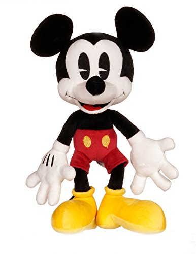 Posh Paws Disney 37031 Classic Mickey's Shorts Mickey Mouse Large Plush (Mickey Mouse Toys For 1 Year Old Uk)