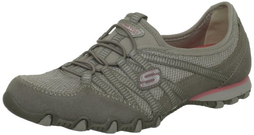 Taupe Skechers Brown nbsp;Hot donna 21159 Ticket Bikers Sneaker qOqUP