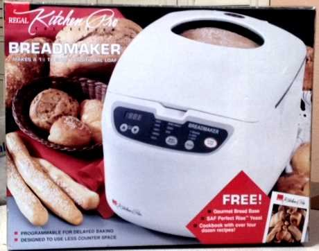 Regal Kitchen Pro Bread Machine K6725 - 1 Reviews